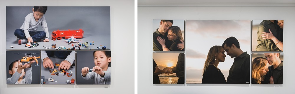 Premium Canvas Collections of a child in studio and couple in Maroubra Beach for sunrise