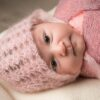 Newborn baby girl in Sydney studio photo session