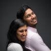 Young Indian couple in Sydney studio