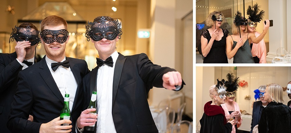 Masquerade party at Australian Museum, Sydney