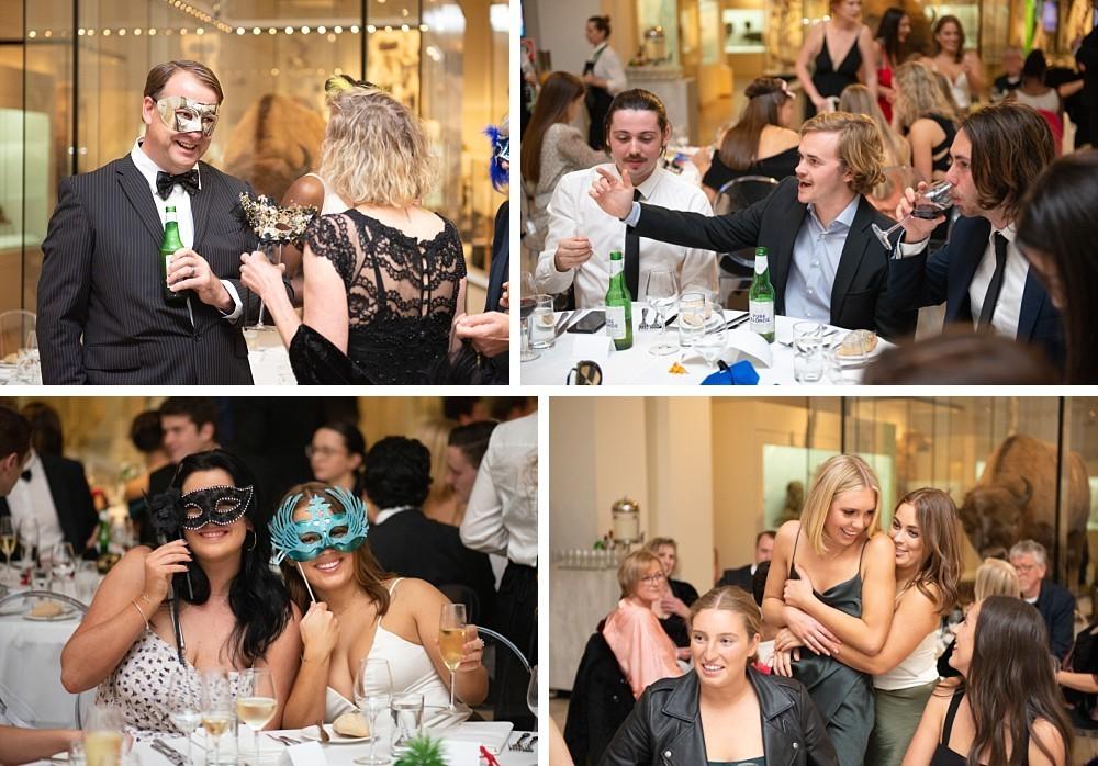 21st Birthday Masquerade party at Australian Museum, Sydney