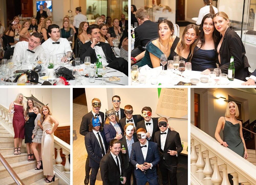 21st Birthday Masquerade party at Australian Museum, Sydney