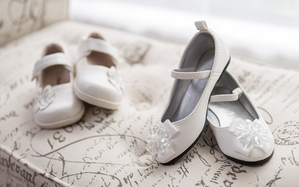 Christening shoes in Event Photography Sydney